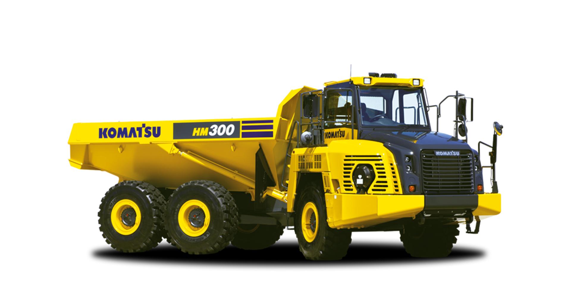 Dumper articolato Komatsu HM300-5
