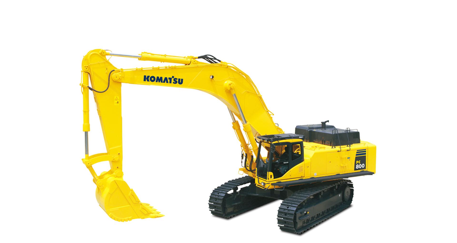 Escavatore cingolato Komatsu PC800/LC-8