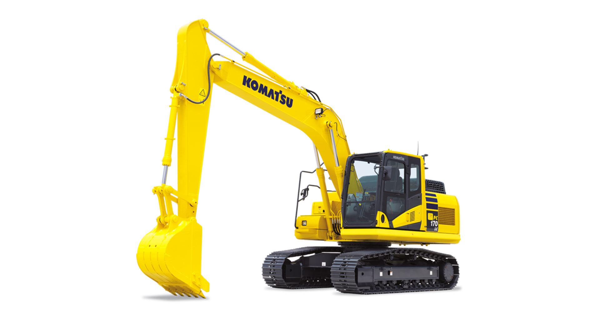 Escavatore cingolato Komatsu PC170LC-11