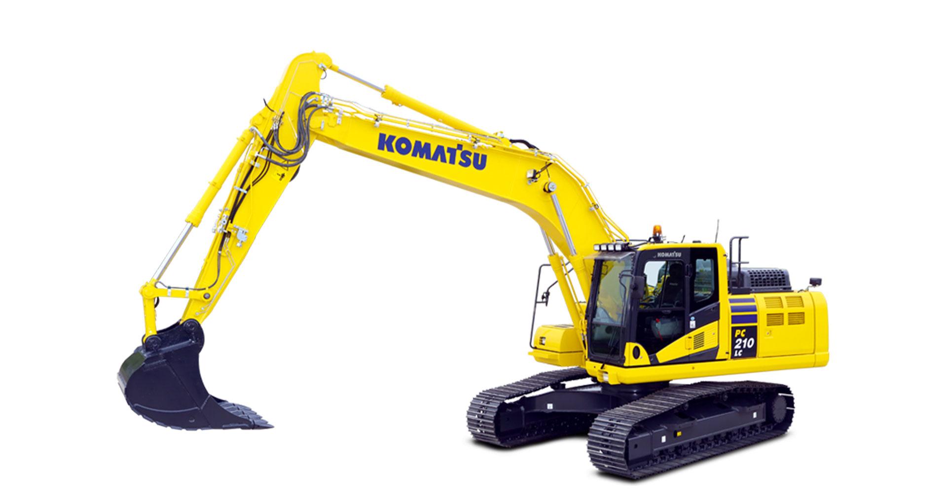 Escavatore cingolato Komatsu PC210/LC/NLC-11