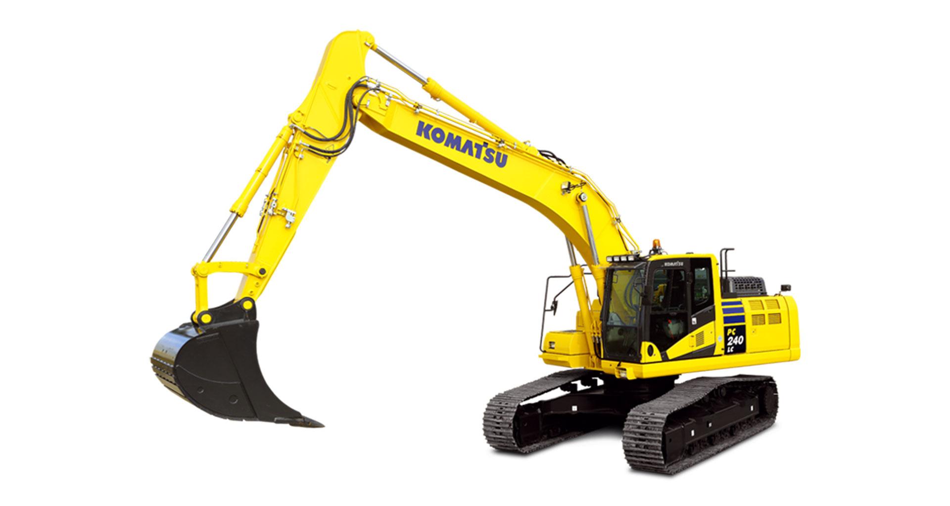 Escavatore cingolato Komatsu PC240LC/NLC-11