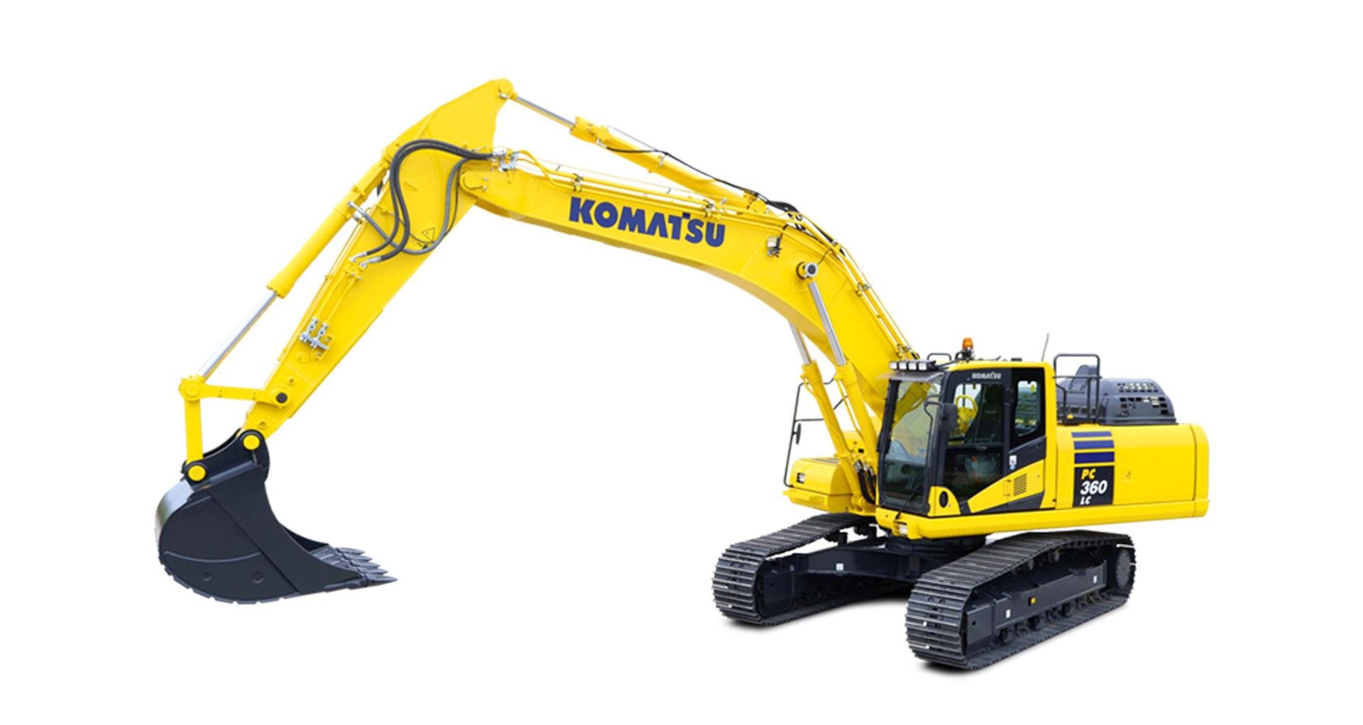Escavatore cingolato Komatsu PC360LC/NLC-11