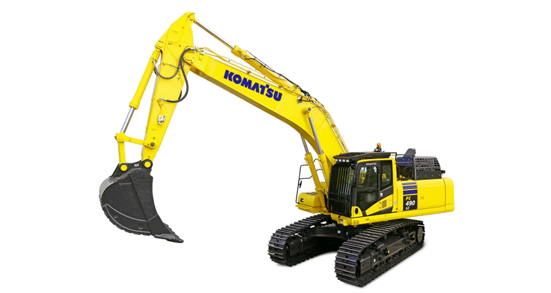 Escavatore cingolato Komatsu PC490/LC-11