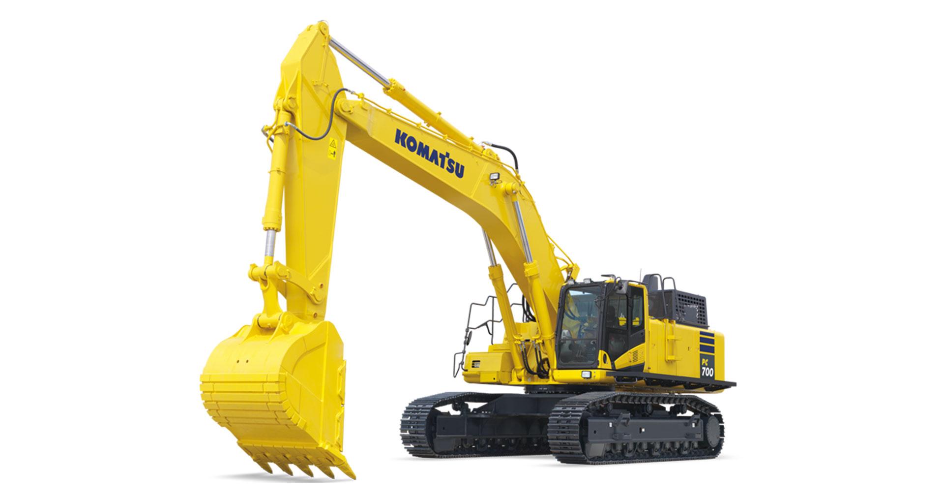 Escavatore cingolato Komatsu PC700LC-11