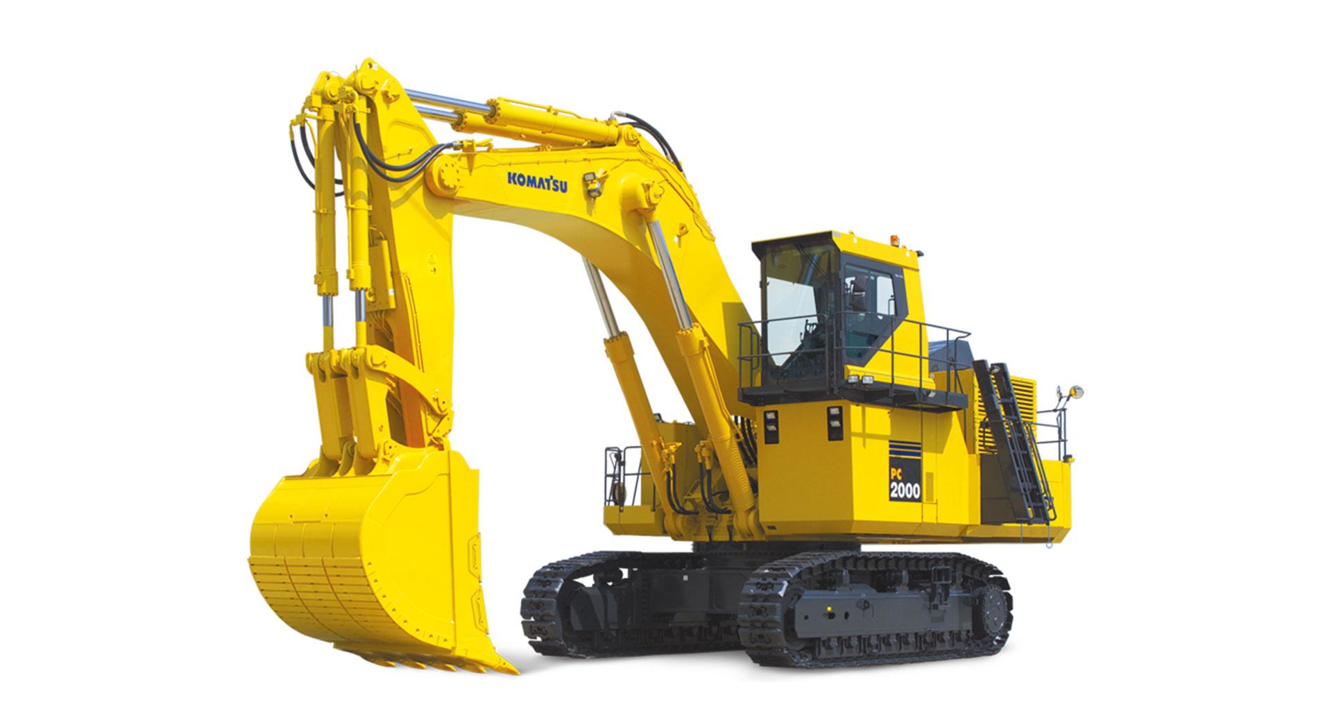 Escavatore idraulico da miniera Komatsu PC2000-8
