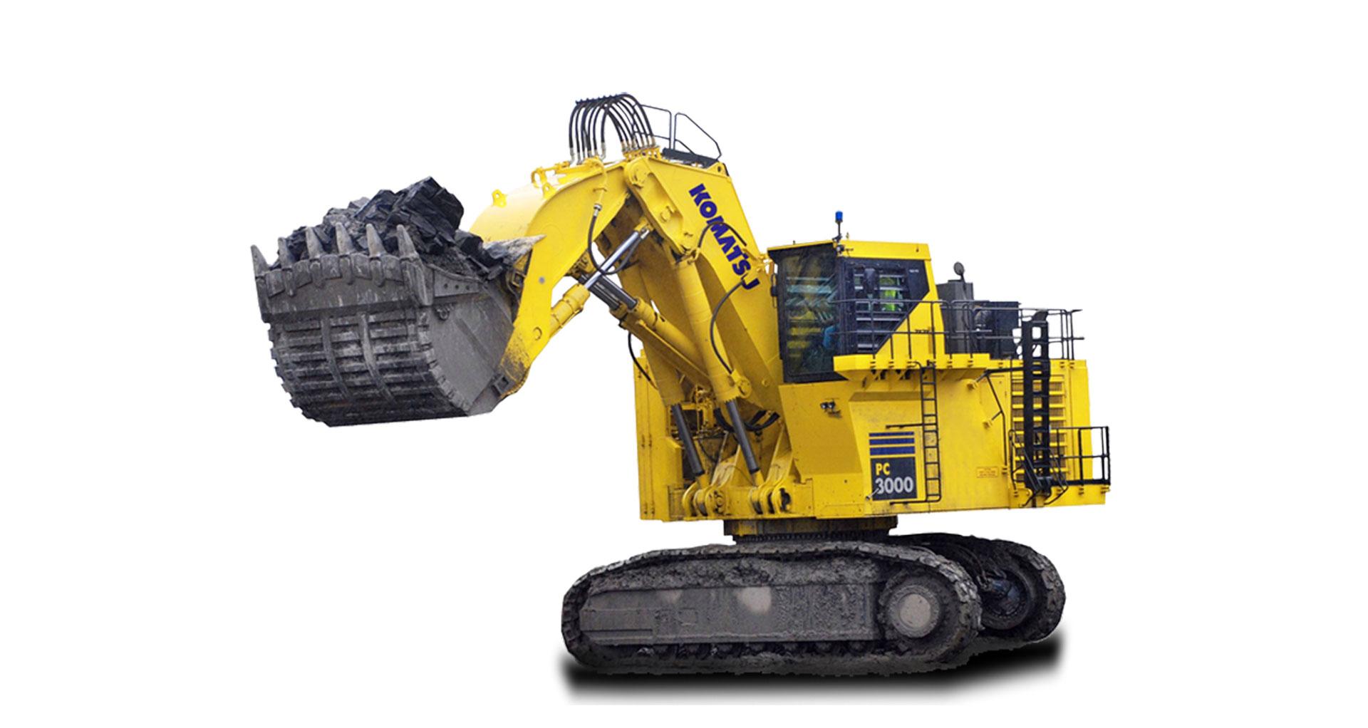 Escavatore idraulico da miniera Komatsu PC3000-6