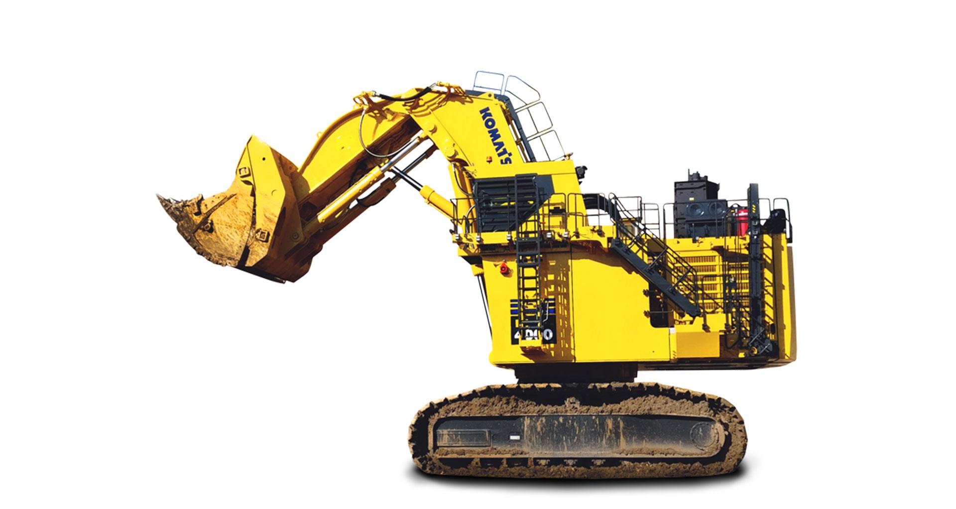 Escavatore idraulico da miniera Komatsu PC4000-11