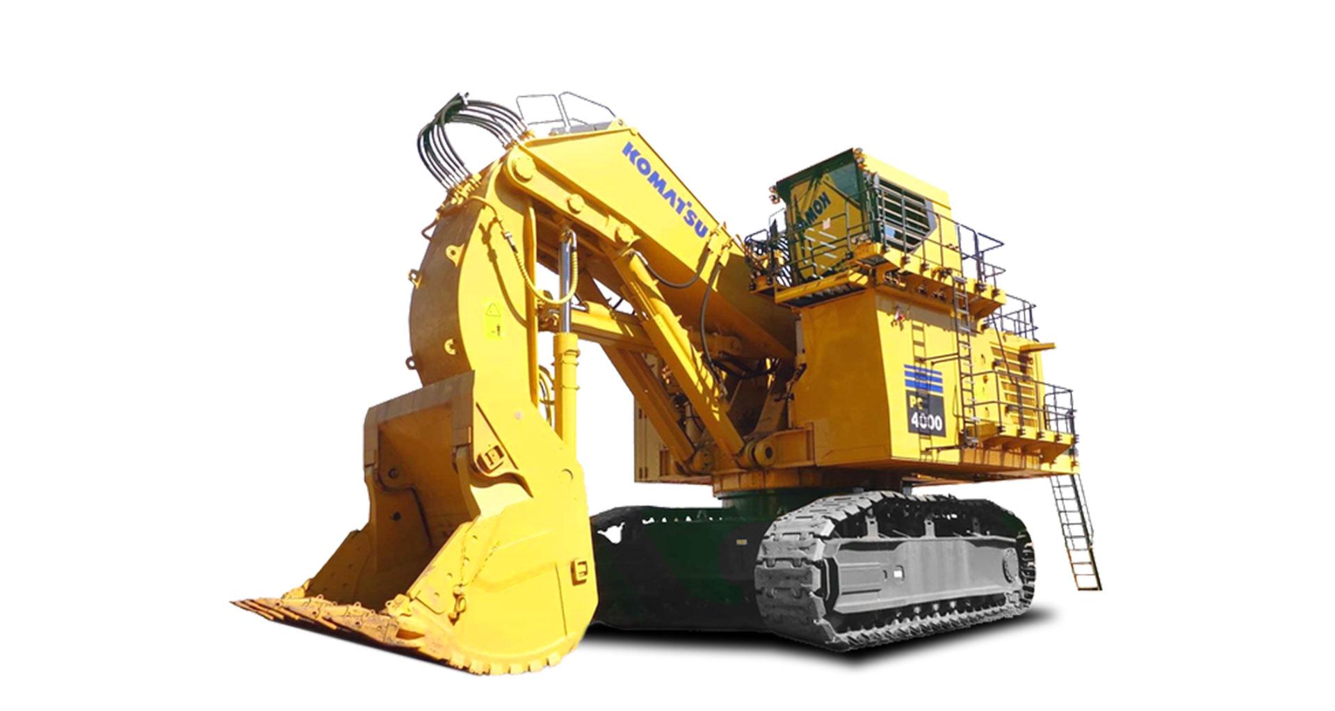 Escavatore idraulico da miniera Komatsu PC4000-6