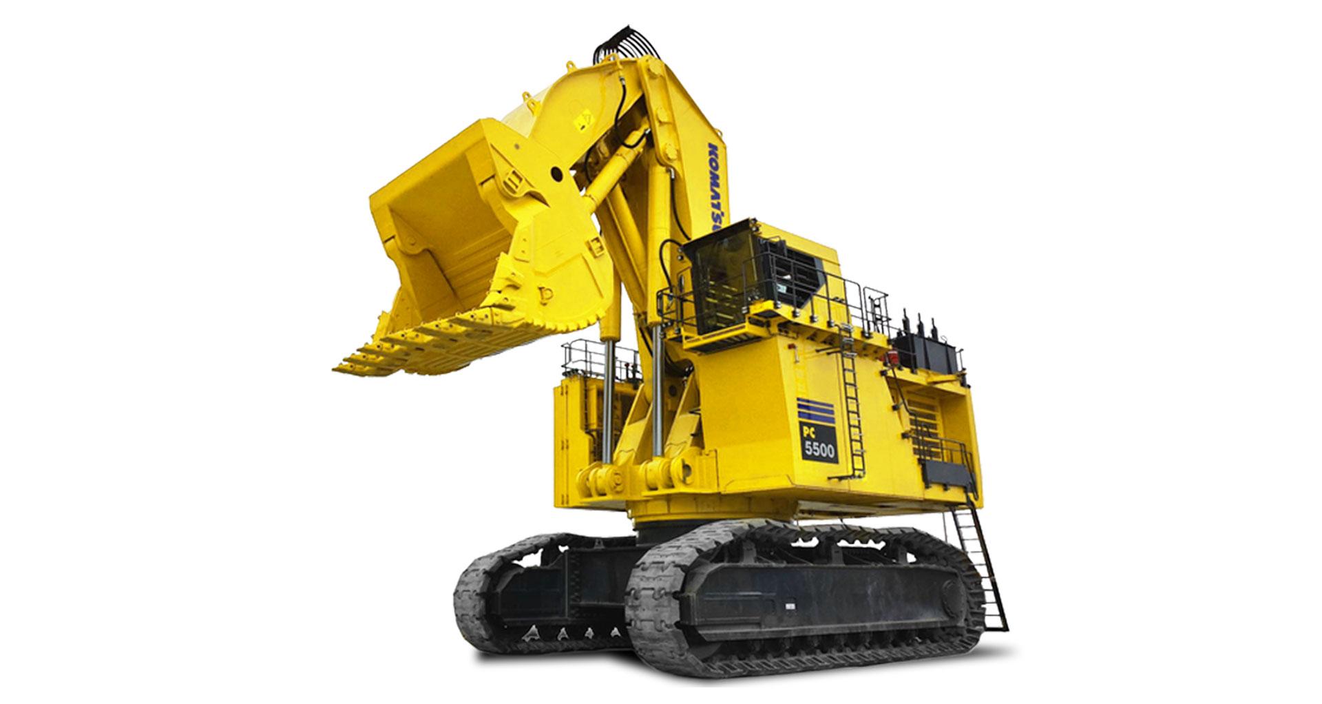 Escavatore idraulico da miniera Komatsu PC5500-6