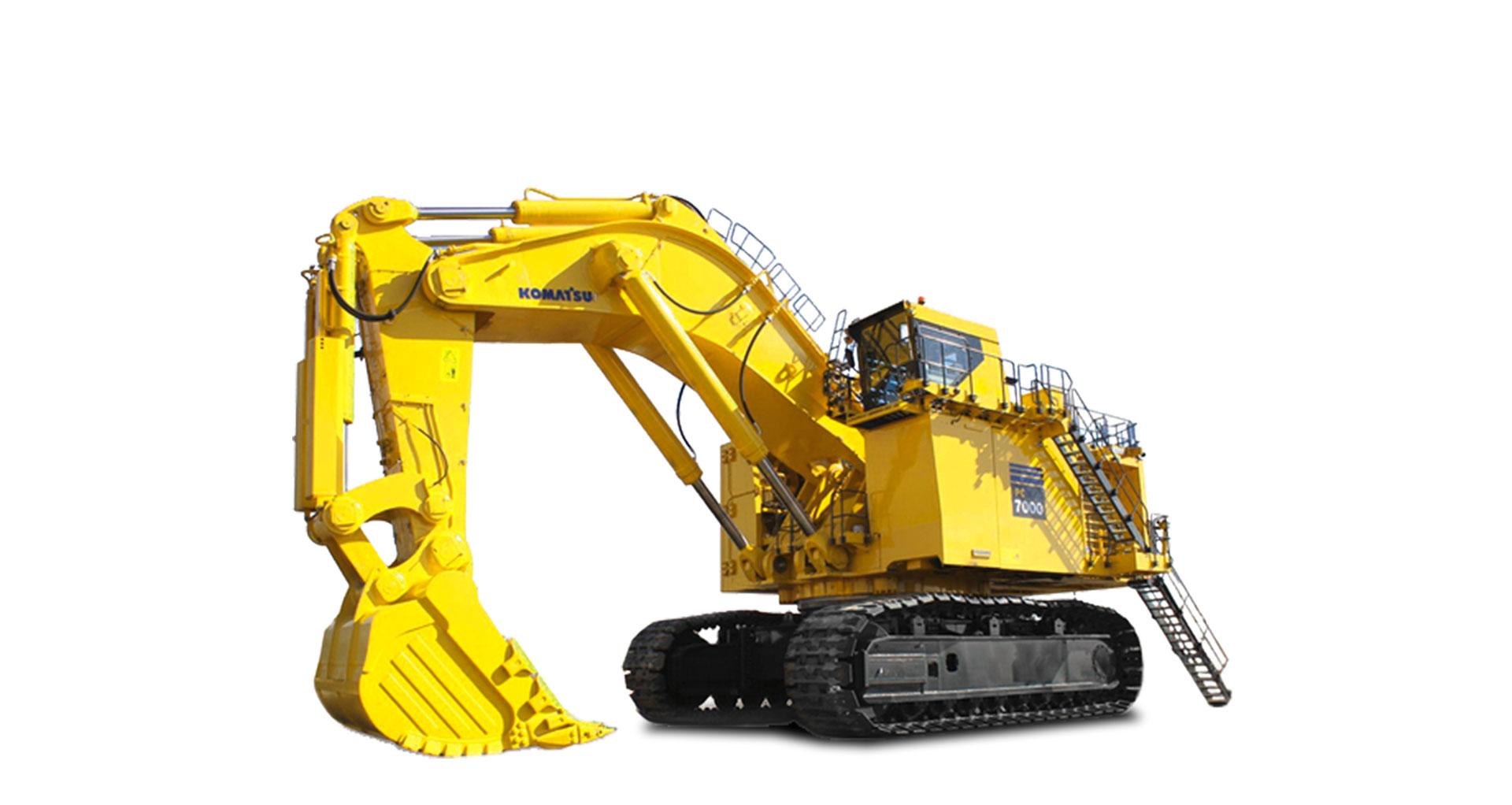 Escavatore idraulico da miniera Komatsu PC7000-6