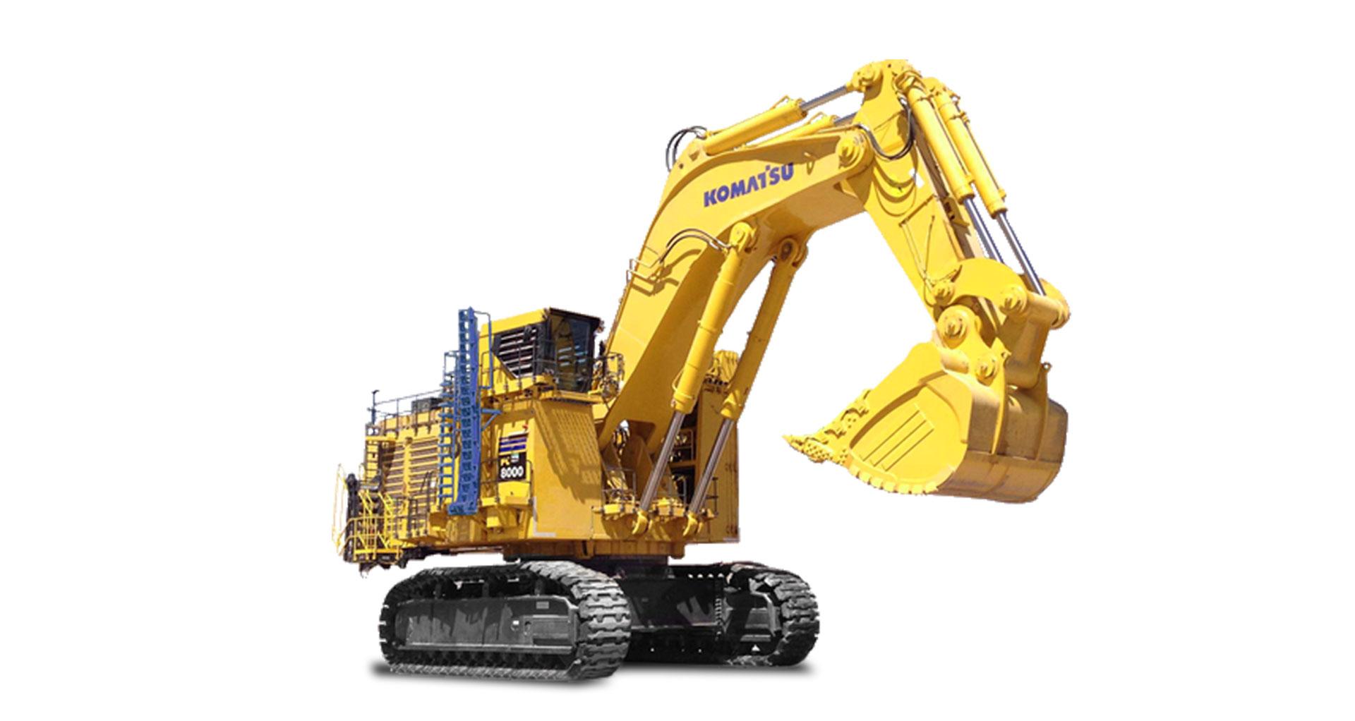 Escavatore idraulico da miniera Komatsu PC8000-6