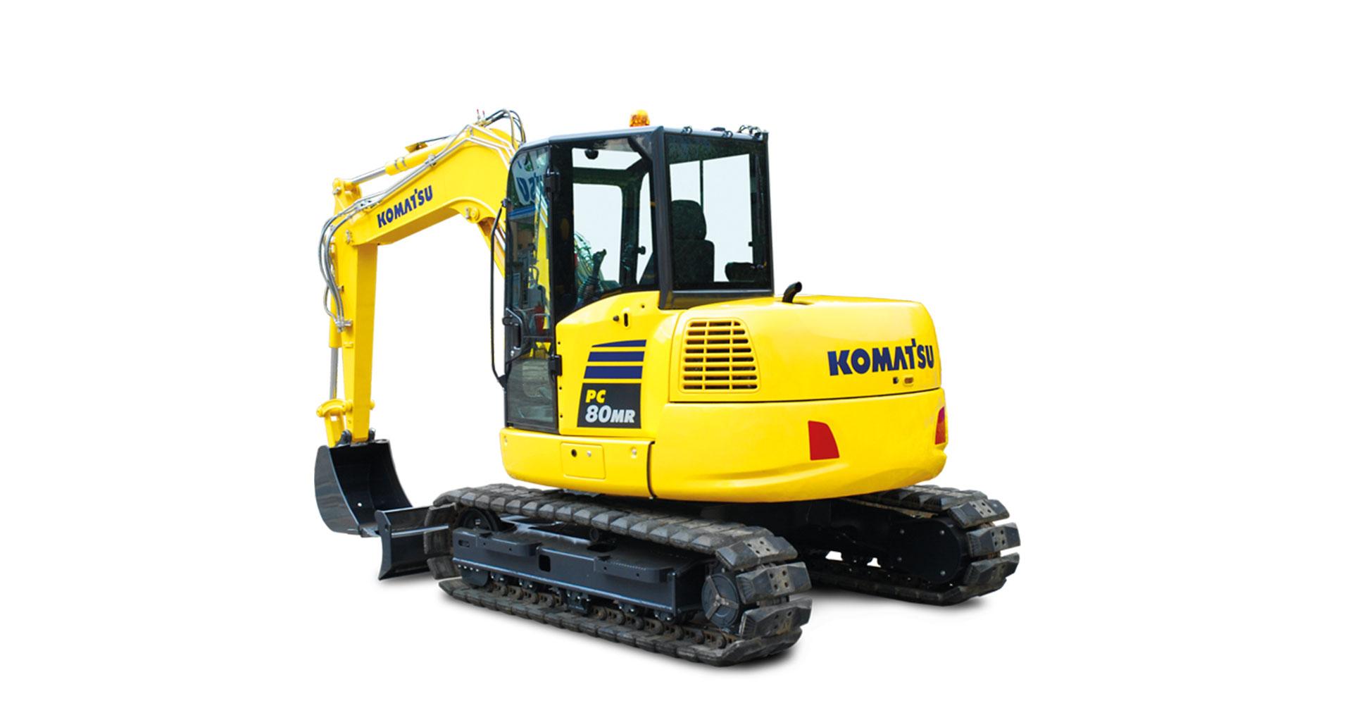 Escavatore cingolato compatto PC80MR-5