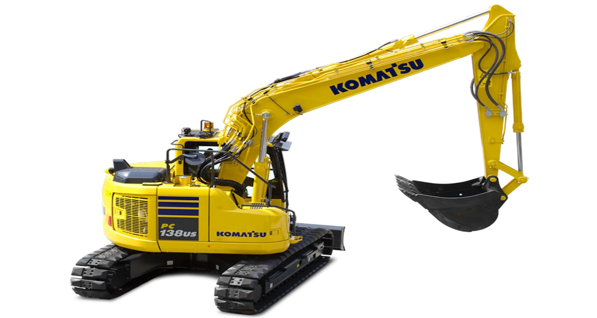 Escavatore a raggio di rotazione ridotto Komatsu PC138US-11