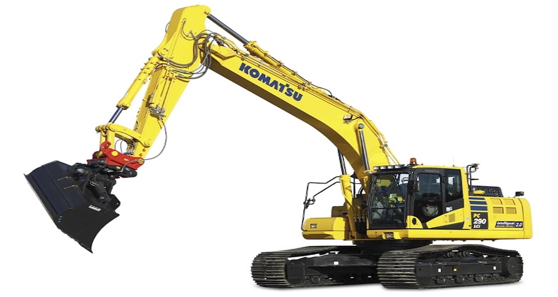 Escavatore cingolato Intelligent Komatsu PC290LCi/NLCi-11