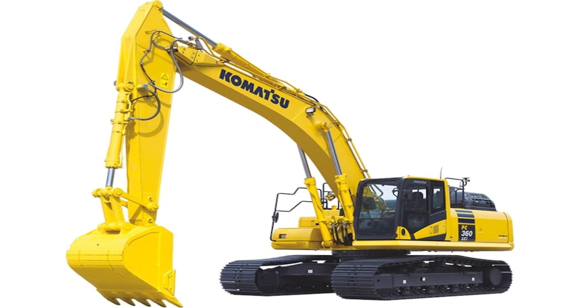 Escavatore cingolato intelligent Komatsu PC360LCi-11