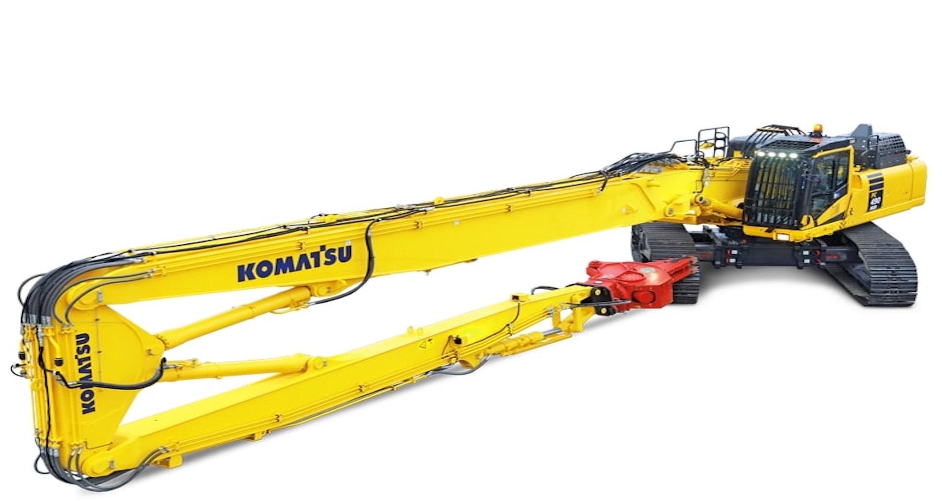 Escavatore cingolato demoliton Komatsu PC490HRD-11